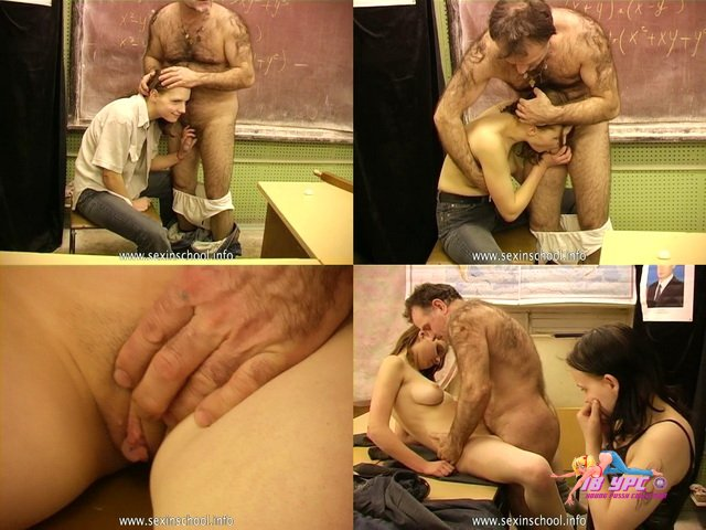 Russian Classroom 5 SIS005 Sex In College Vanechka & Teacher